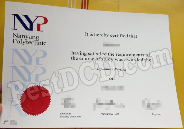 Where to get a NYP fake diploma, Singapore fake certificate