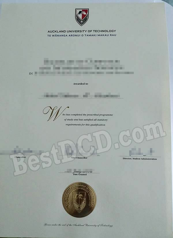 Cheap AUT fake degree, buy fake AUT Ddiploma online