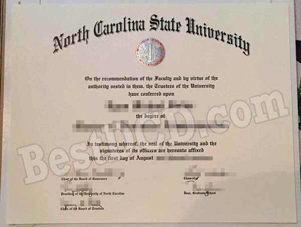 NCSU fake degree