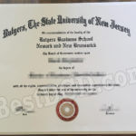 Rutgers University fake degree