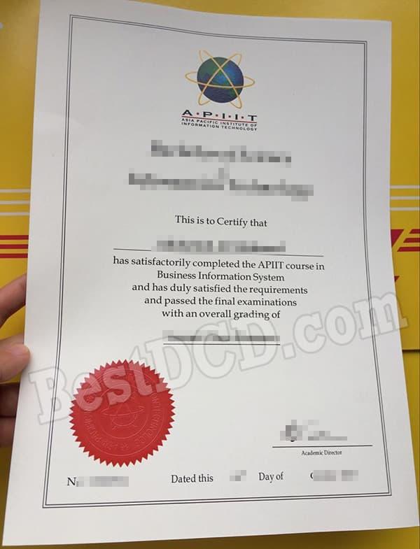 False Apiit Fake Diploma Buy Fake Apu Degree And Transcript