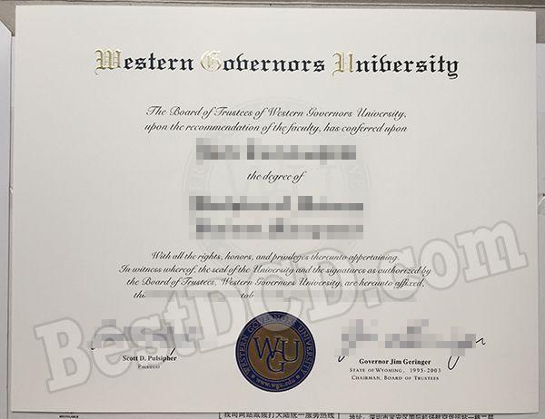 How to buy a WGU fake degree, buy fake USA degree online