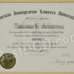 AILA fake certificate