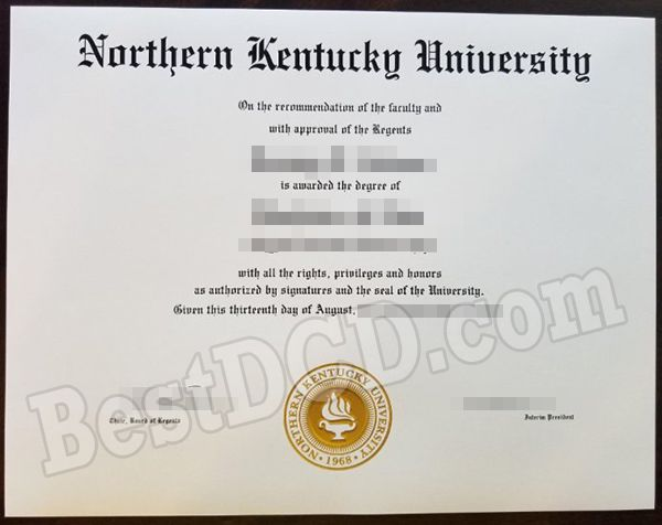 How about buy a Northern Kentucky University fake degree