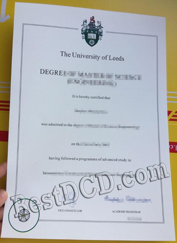 Buying The University Of Leeds Fake Degree Buy Fake Best Uk