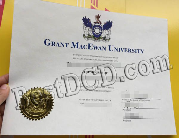 Grant MacEwan University degree