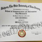 Rutgers degree