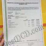 singapore CGCE level certificate