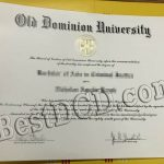 Old Dominion University degree